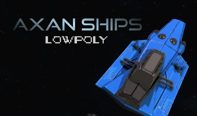 Axan Ships Simple Low Poly
